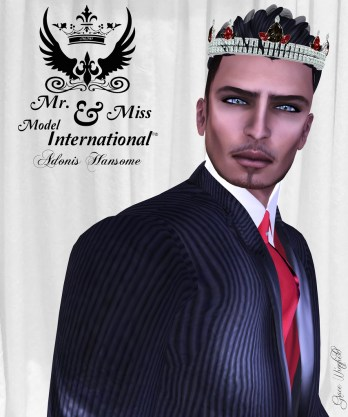 Adonis Hansome, Mr. Model International