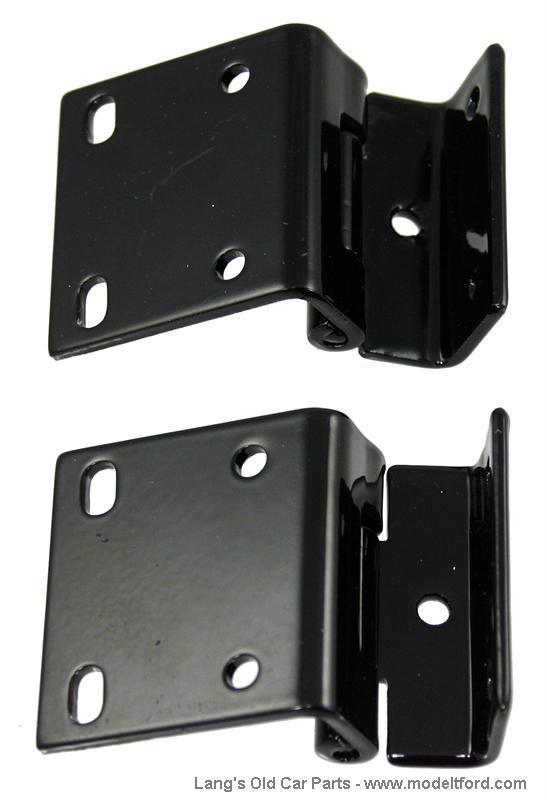 Model T Turtle deck lid hinge roadster pair 9485H