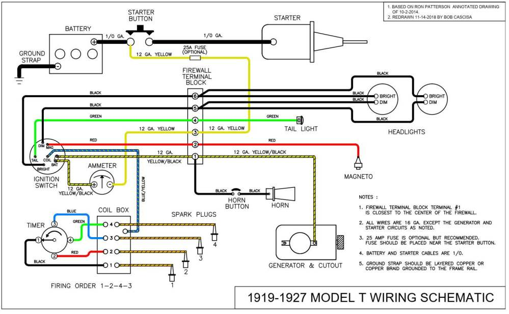 medium resolution of alternator and starter schematic diagrams of 1964 ford b f and t 64 falcon wiring diagram