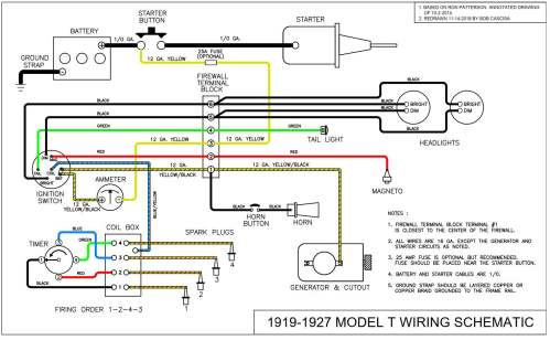 small resolution of alternator and starter schematic diagrams of 1964 ford b f and t 64 falcon wiring diagram