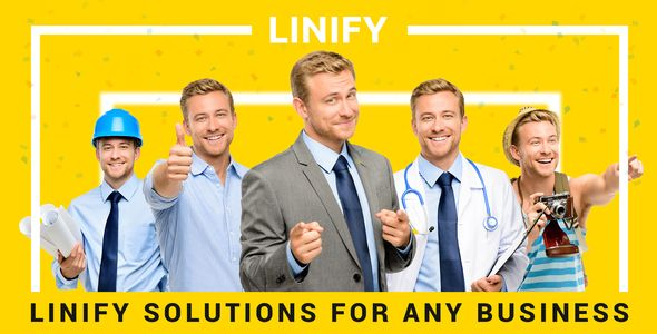 Linify – Multipurpose Corporate WordPress Theme