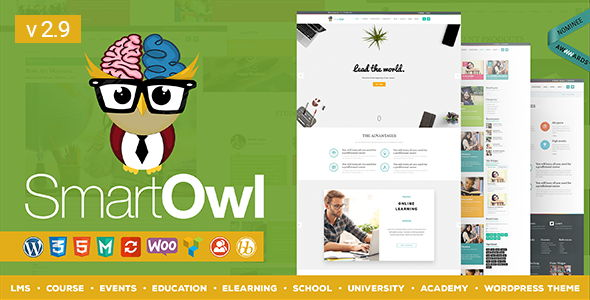 SmartOWL – LMS Education WordPress Theme
