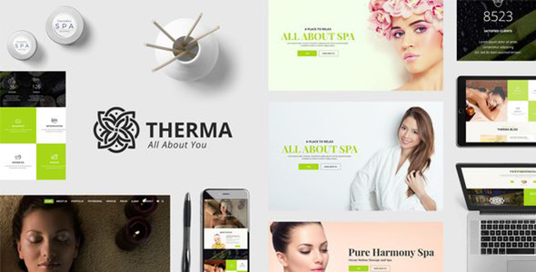 Therma – Spa and Wellness WordPress Theme