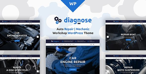 Diagnose – Auto Repair Services Theme