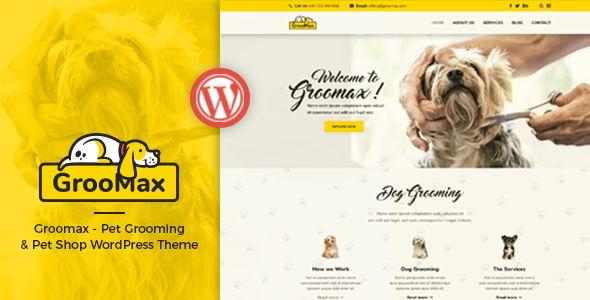 Groomax – Pet Grooming & Shop Theme