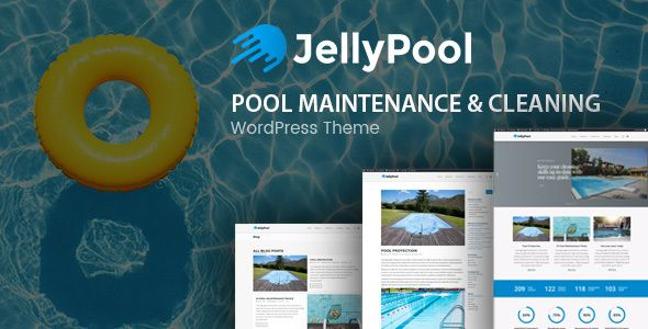 JellyPool – Pool Maintenance Theme