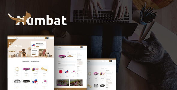 Numbat – Pet Shop WordPress Theme