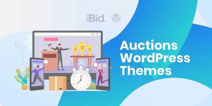10+ Auction WordPress Themes & Templates