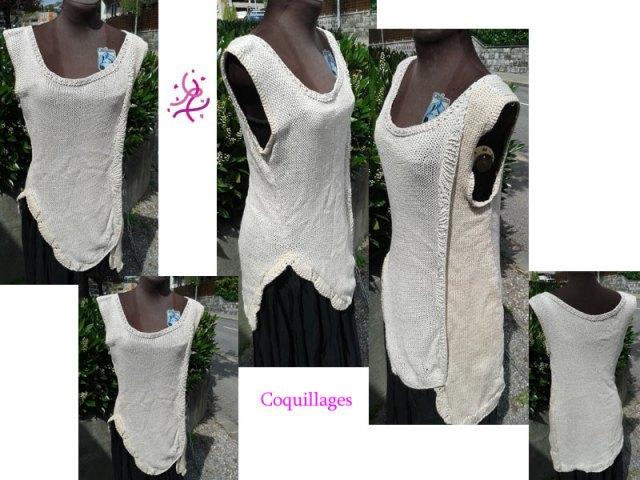 Vous cherchez une tenue décontractée, qui vous change des habituels T-shirts? Alors ce top est pour vous!