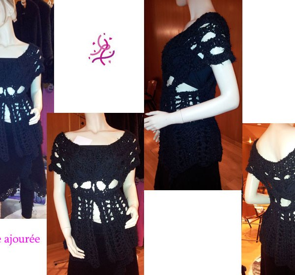 Vous cherchez une tenue originale pour un événement spécial? Alors cette tunique est pour vous.