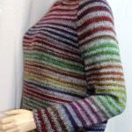 Vous cherchez un pull élégant et ajusté dans le trend des rayures? Alors le pull Zébrino est pour vous!