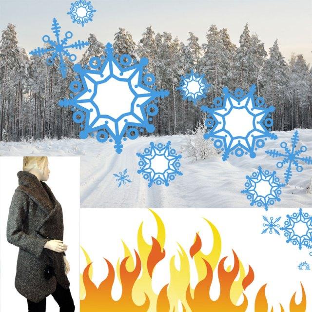 Manteau Tsarine pour lutter élégamment contre le froid!