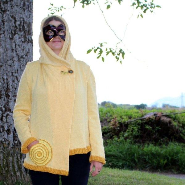 Veste de lutin jaune