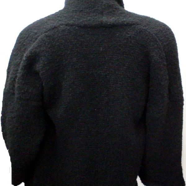 Veste Kimono Unie, couleur noire