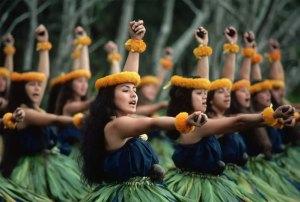 Danseuses Hawaïennes