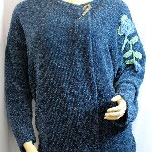 Veste velours couleur bleue