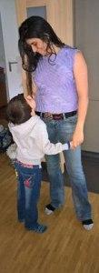 Danser avec son enfant