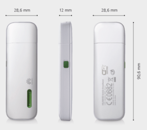 Huawei E355 WiFi dongle specifications