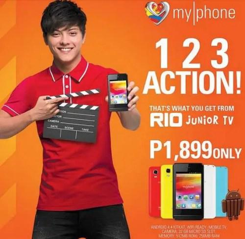 MyPhone Rio Junior TV