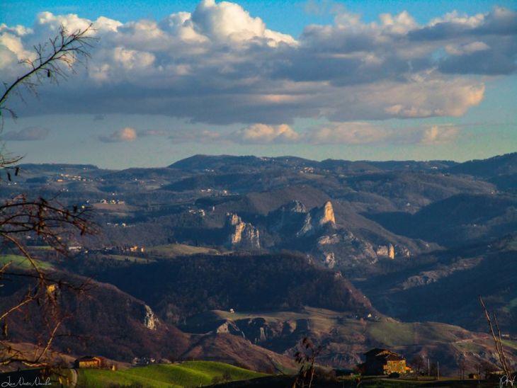 Panorama sui Sassi di Roccamalatina, Foto di Luca Nacchio