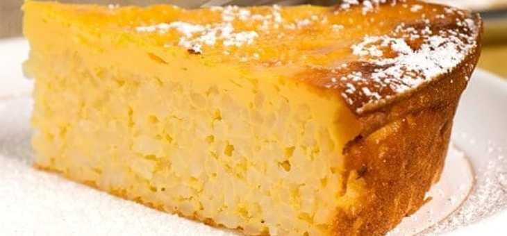 La tradizionale Torta di Riso | Sapori di Modena
