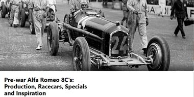 Pre-war Alfa Romeo 8C's