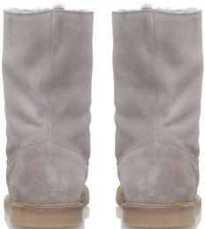 'Kiruna' Sheepskin Boots i Grey Bonpoint bak