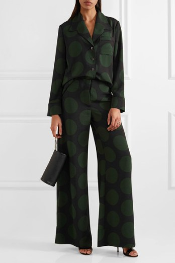 Big dots are ultra sophisticated. This McQ shows how.