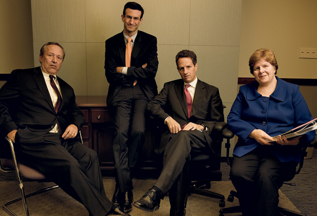 Obama Economic Team 'Vogues' last November
