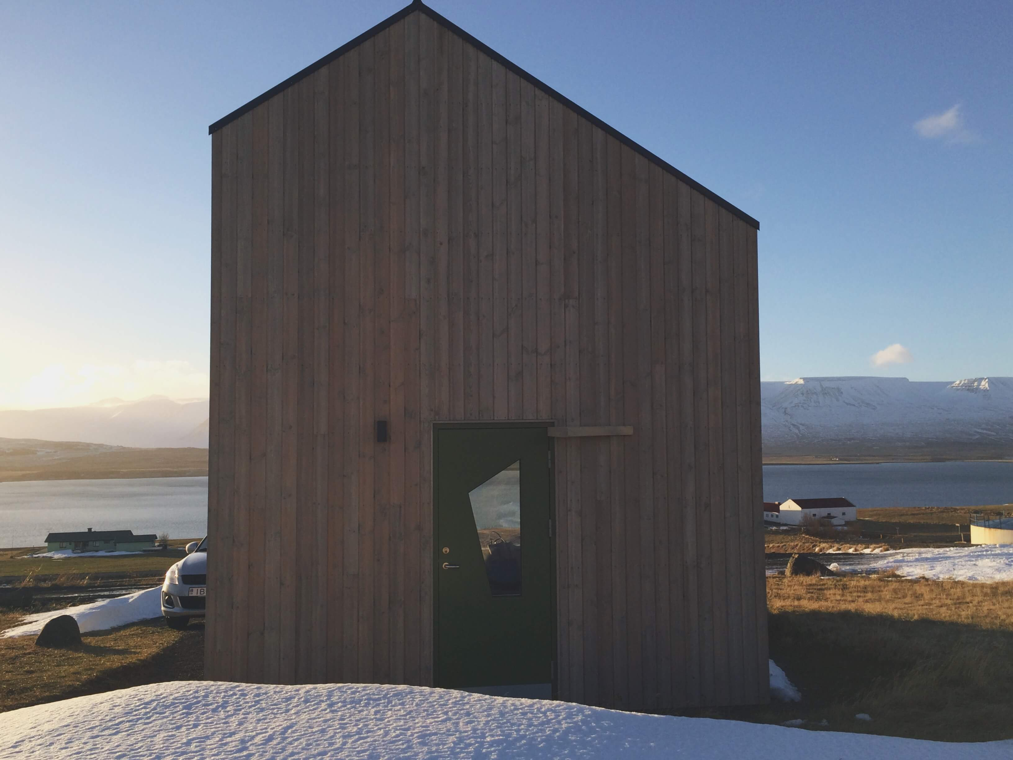 Akureyri unique cabin from Airbnb, Iceland Budget Travel