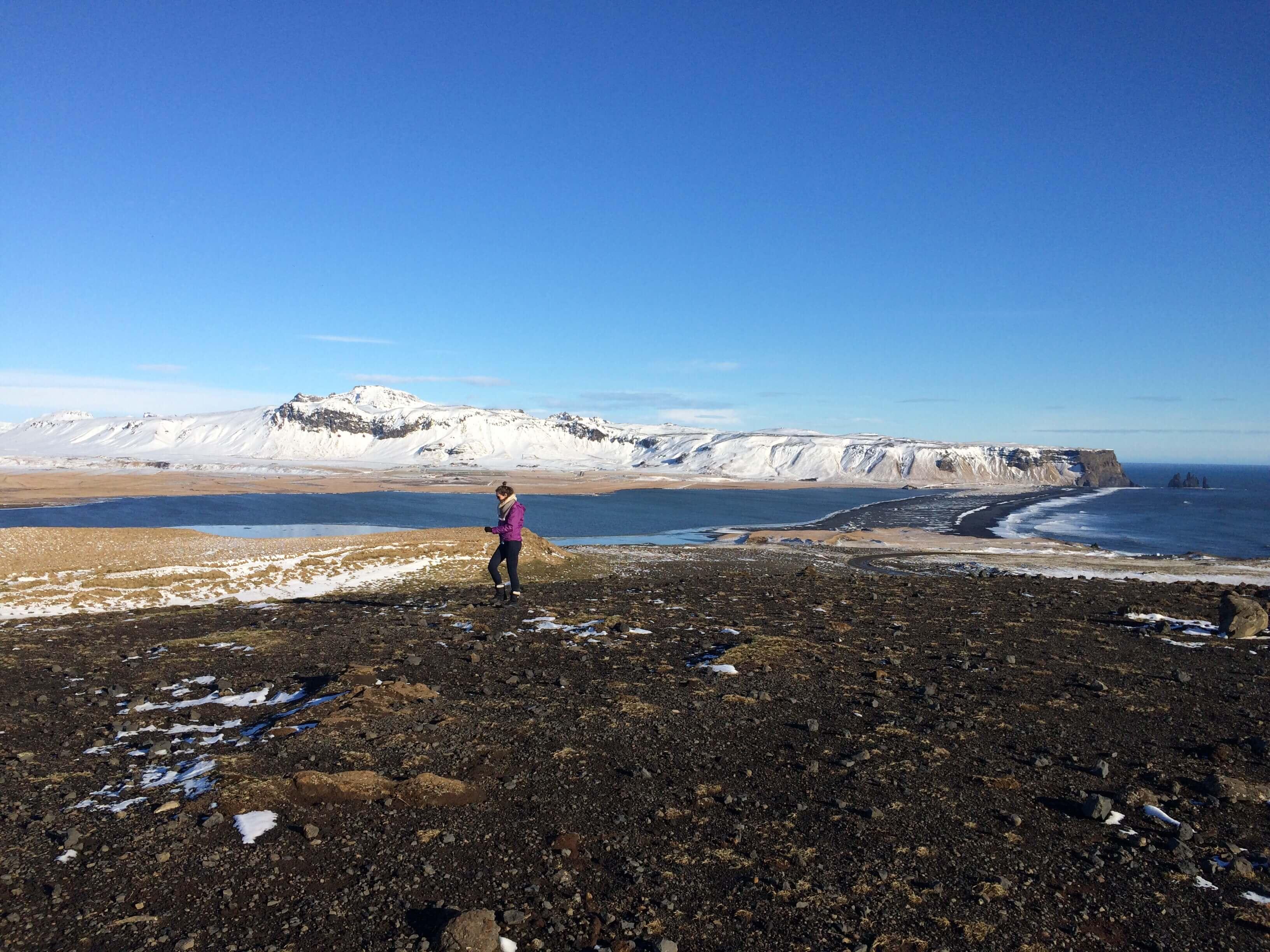 Dyrhólaey outcropping, Iceland's southeastern coast