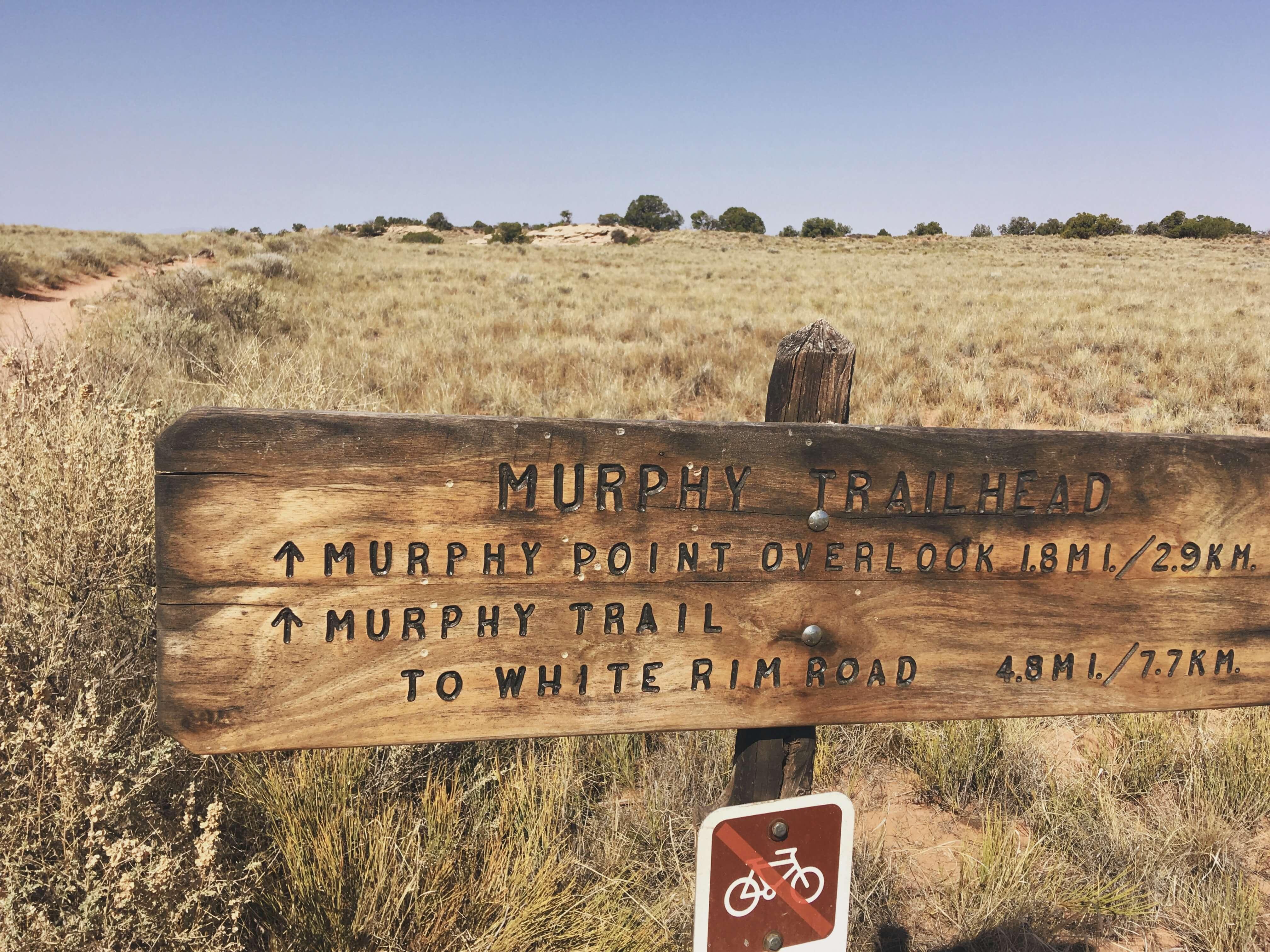 Murphy Point Hike, Canyonlands, Utah