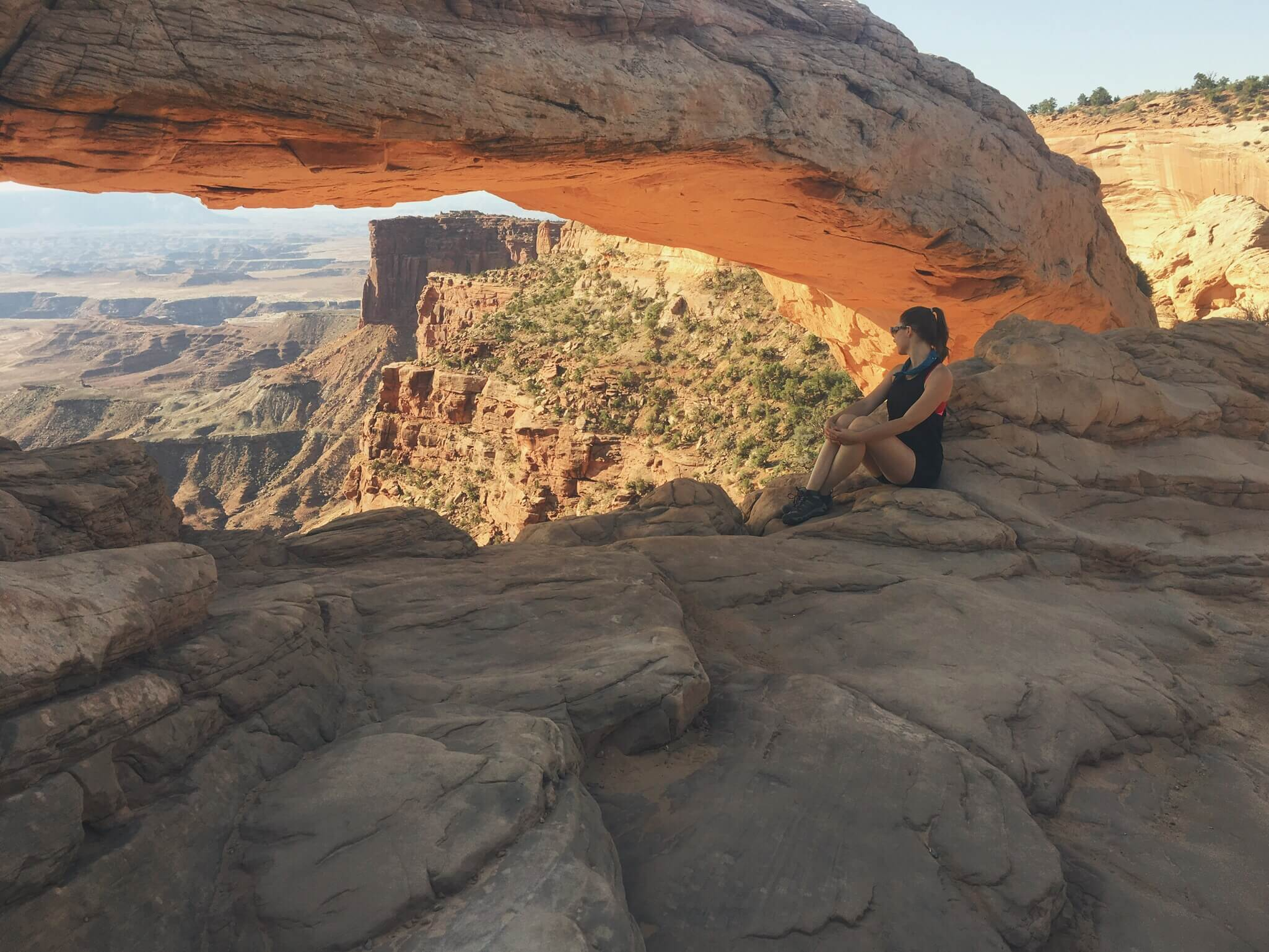 Mesa Arch at sunrise, Canyonlands, Utah