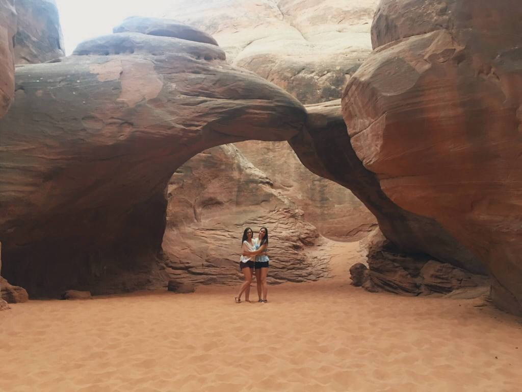 Sand Dune Arch, Arches National Park, Utah