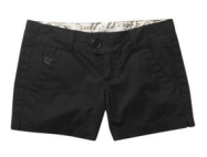 Freestyle black shorts