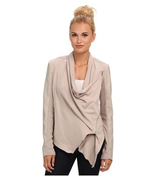 taupe drape front