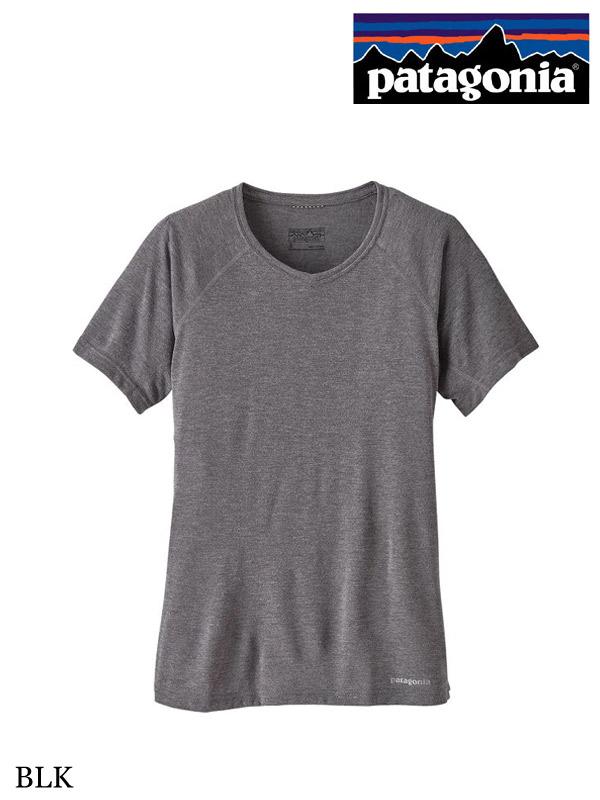 patagonia,パタゴニア,ウィメンズ,ショートスリーブ,ナイントレイルズ,シャツ,Tシャツ,Women's,Short-Sleeved,Nine Trails Shirt,moderate,モデラート,アウトドア