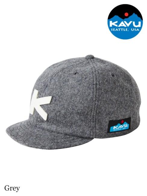 KAVU,カブー,Base Ball Cap (Wool) ,ベースボールキャップ,ウール