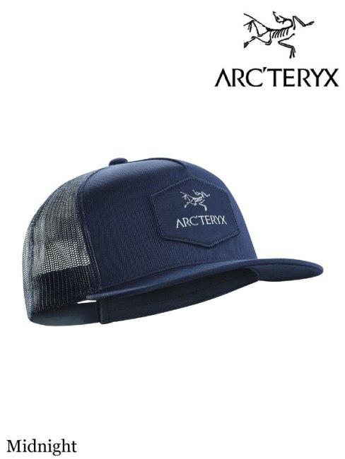 ARC'TERYX,アークテリクス,Hexagonal Patch Trucker Hat Midnight,ヘクサゴナルパッチトラッカー キャップ ミッドナイト