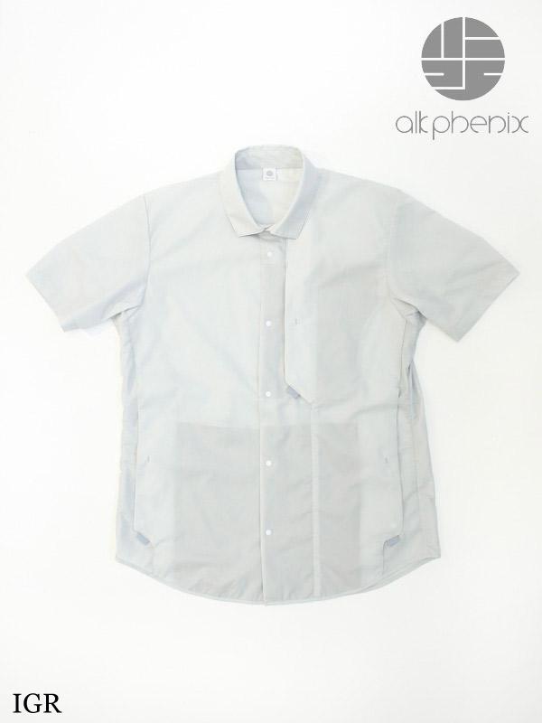alk phenix,アルクフェニックス,crank shirt S/S #IGR,クランク シャツ ショートスリーブ