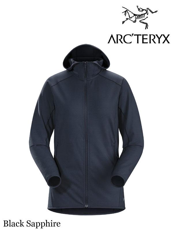 ARC'TERYX,アークテリクス,Women's Adahy Hoody #Black Sapphire,アダヒ フーディ ウィメンズ (レディース)