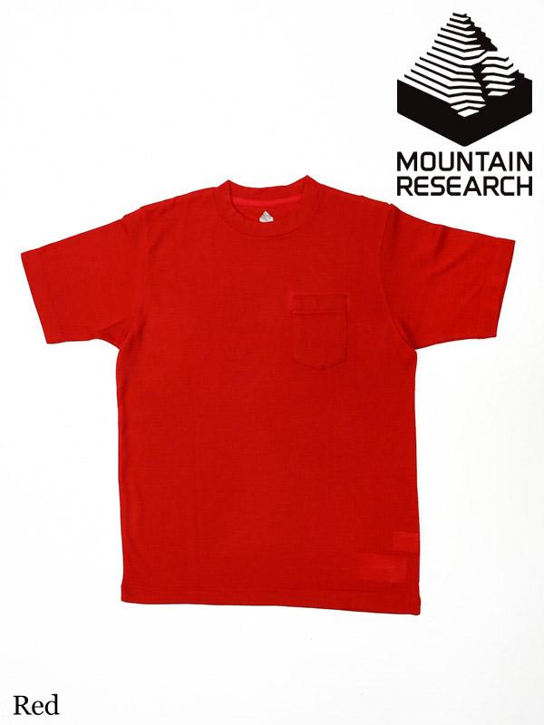 Mountain Research , マウンテンリサーチ,  MICベアー #レッド (Tシャツ)