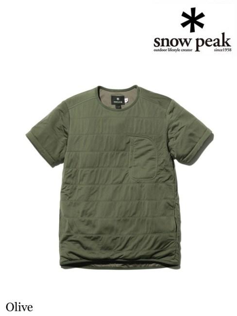 snow peak,スノーピーク,Flexible Insulated Half Sleeve #Olive,フレキシブルインサレーションハーフスリーブ #オリーブ