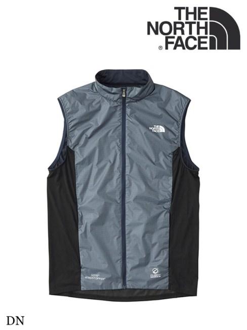 THE NORTH FACE,ノースフェイス,WS White Running Vest #DN ,ウインドストッパーホワイトランニングベスト(メンズ)