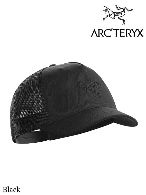 ARC'TERYX,アークテリクス,Short Brim Trucker Hat #Black ,ショートブリム トラッカー キャップ