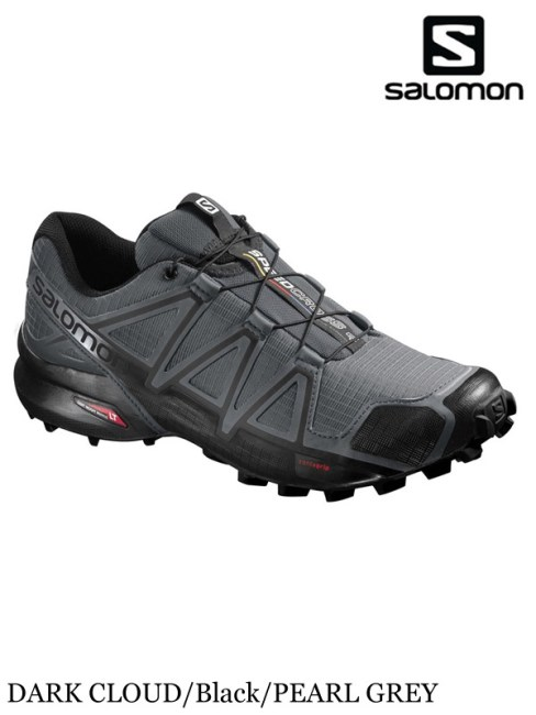 SALOMON,サロモン,SPEEDCROSS 4 #DARK CLOUD/Black/PEARL GREY ,スピードクロス4