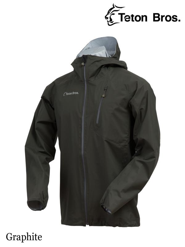 Teton Bros. .ティートンブロス. Feather Rain Full Zip Jacket (Unisex) #Graphite,フェザーレインフルジップジャケット(ユニセックス)