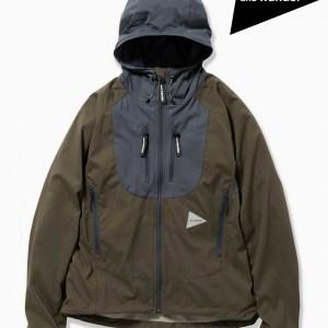 and wander,アンドワンダー, trek jacket #khaki ,トレックジャケット