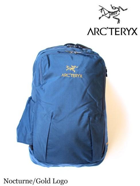 ARC'TERYX,アークテリクス,Pender Backpack #Nocturne/Gold Logo,ペンダーバックパック