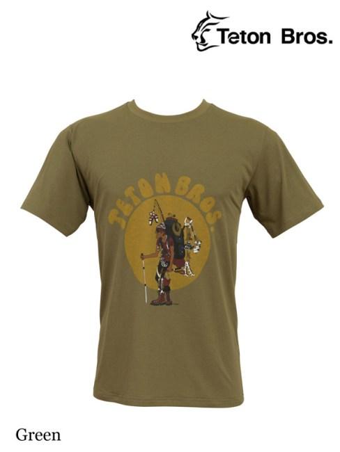 Teton Bros. , ティートンブロス ,TB Hiker 18 Tee (Men) #Green ,ティートンブロス,TB ハイカー 18 ティー